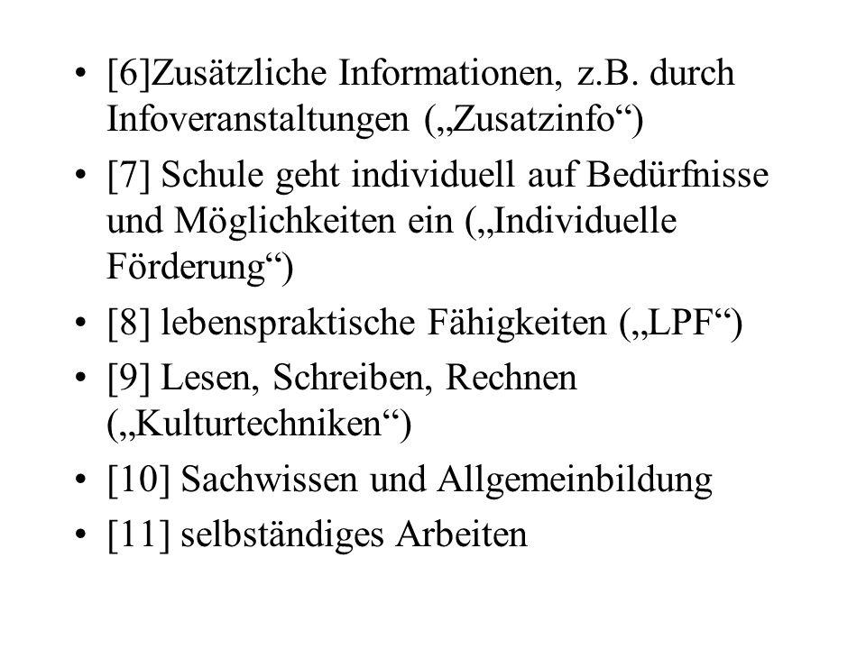 [6]Zusätzliche Informationen, z. B